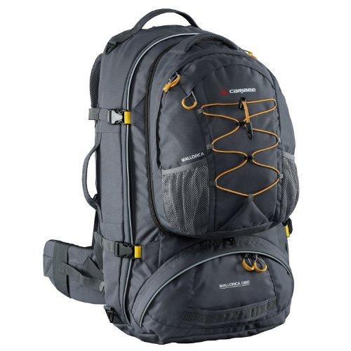 caribee-mallorca-80-travelpack-mit-tagesrucksack-schwarz-grau-charcoal-2013