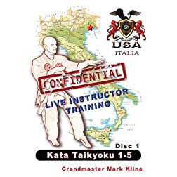 Confidential Live Training -Taikyoku Kata 1-5 Disc 1