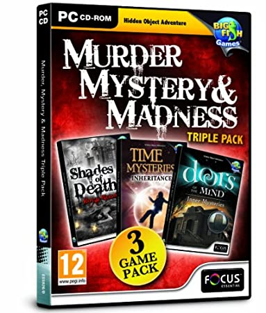 Murder, Mystery & Madness Triple Pack (PC CD)