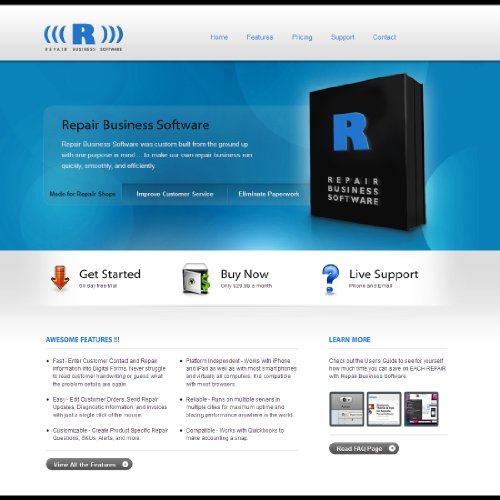 Repair Business Software - Without Free Technical