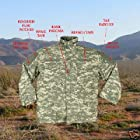 ACU Digital Camouflage Army M-65 Field Jacket 8540 Size 2X-Large