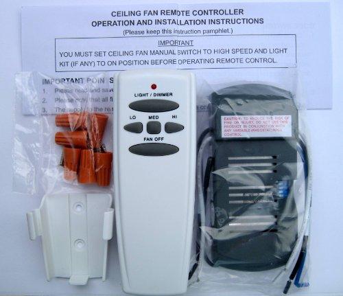 Universal Ceiling Fan Remote Control Kit Ceiling Fans