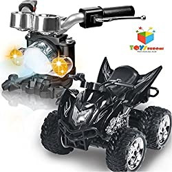Toys Bhoomi 1:12 4Wd 6-Channel Gravity Sensor Handlebar Controlled Rc Drift Race Motorcycle Car