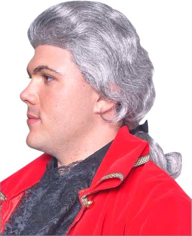 Historical Benjamin Franklin Costume Wig
