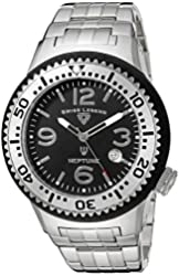 Swiss Legend Men's 21848P-11-SB Neptune Force Analog Display Swiss Quartz Silver Watch