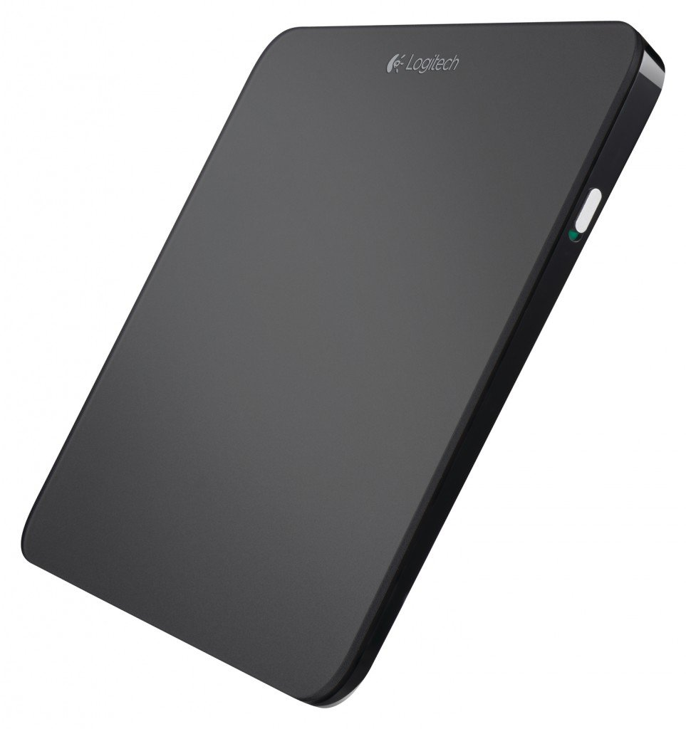 Logitech T650 Wireless Rechargeable Touchpad - Black