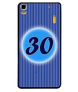 Printvisa 2D Printed Numerology Designer back case cover for Lenovo A7000 - D4251