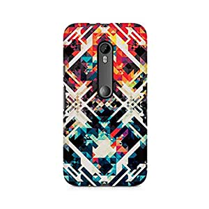 Mobicture Pattern Premium Printed Case For Moto X Play