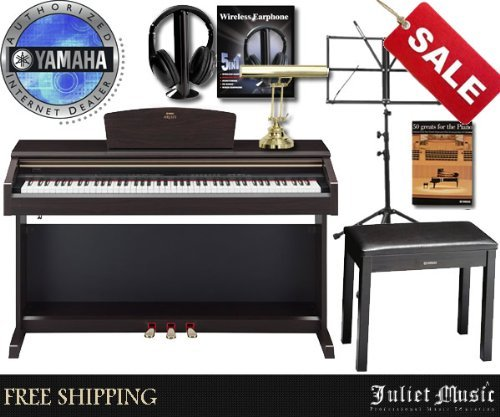 Yamaha Arius Ydp181 Ydp-181 88-Key Digital Piano Delux Bundle With Free Gifts
