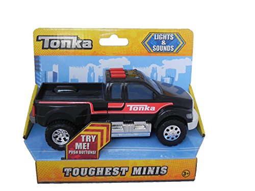 Tonka Toughest Minis Pick-up Truck - Black (Tonka Pickup Truck compare prices)