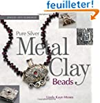Pure Silver Metal Clay Beads