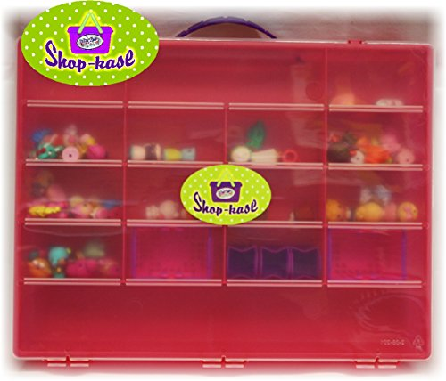 Mattys Toy Stop Mattys Toy Stop Shop Kase Shopkins Compatible Storage Container, Organizer & Carry Case Pink