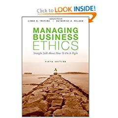Managing Business Ethics (9780470343944)
