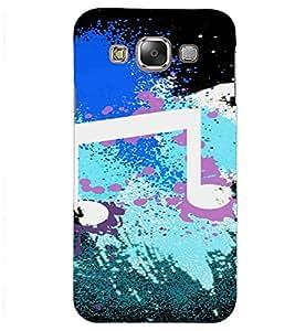 PrintVisa Modern Art Music Design 3D Hard Polycarbonate Designer Back Case Cover for Samsung Galaxy J2