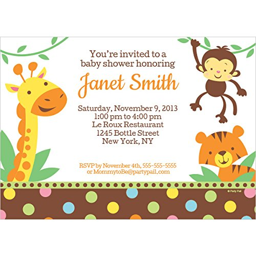 Creative Baby Shower Invitations front-795413