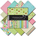 DOVECRAFT 12x12 Christmas Fancy Paper Pack - 36 Sheets