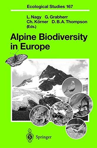 Alpine Biodiversity in Europe (Ecological Studies)