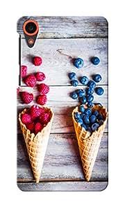 KnapCase Cones & Berries Designer 3D Printed Case Cover For HTC Desire 820