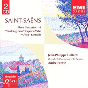 Saint-Saëns: Piano Concertos 1-5 / Wedding Cake / Caprice-Valse / Africa Fantaisie