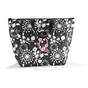 Amazon com thirty one thermal tote in black floral brushstrokes no