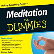 Meditation For Dummies Audiobook | [Stephan Bodian]