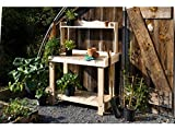 Rustic Natural Cedar Furniture 3100521 Potting Bench