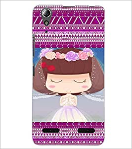 PrintDhaba Cartoon D-3606 Back Case Cover for LENOVO A6000 (Multi-Coloured)