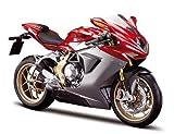 2012 MV Agusta F4 [Maisto 20-11094], Red / Silver, 1:12 Die Cast