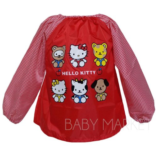 Kitty smock red-95 cm