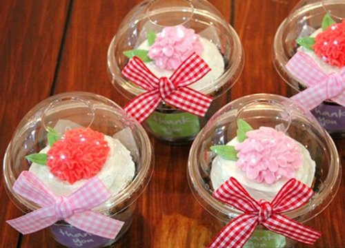 20 Clear Cupcake Containers