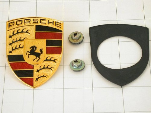 Pack of 10 All Sales 96500K-10 Grille Emblem,