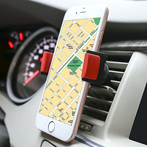 Patea Car Mount, One Touch Lock 360° Universal Air Vent Smartphone Car Mount Holder (Air Vent Universal Phone Holder compare prices)