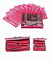 Saree Cover 12 Pcs Set & Jewellery Kit 2 Pcs Set