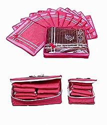 Saree Cover 12 Pcs Set & Jewellery Kit 2 Pcs Set