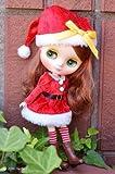 ミディブライス 洋服 ジュニームーン ドリーウェア キラキラ クリスマス 赤
