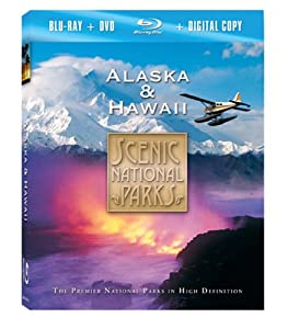 Scenic National Parks: Alaska & Hawaii (Blu-ray Combo Pack)