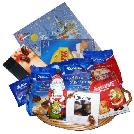 Christmas Gift Basket 12pc