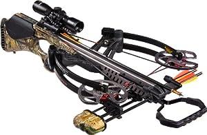 Barnett Vengeance Crossbow with 3x32mm Scope Package, 140-Pound, Camouflage by Barnett