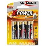 "Battery, 1.5V, AA, LR6 X4""Alkaline, Mignon, 4pcs/pack"