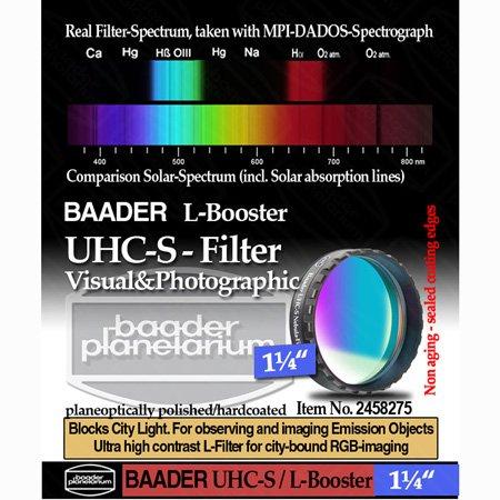 "Baader Planetarium UHC-S Nebula Filter 1.25"" FUHC-1"