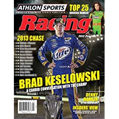 Buy 2013 Athlon Sports NASCAR Racing Preview Magazine- Brad Keselowski Danica Patrick Cover by Athlon Sports