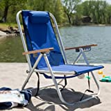Search : WearEver Steel Hi-Back Backpack Beach Chair