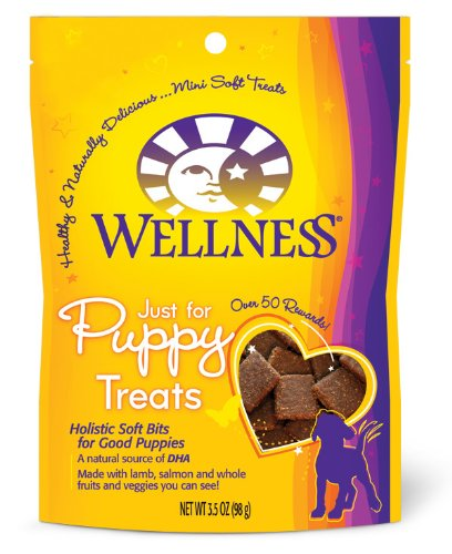 Wellness Natural Food for Pets Wellness Just For Puppy Treats, 3.5 oz. Pouch
