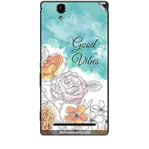 Skin4Gadgets Good Vibes Phone Skin STICKER for SONY XPERIA T2 ULTRA