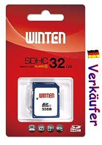 Winten 32GB SD SDHC 32GB Class 10