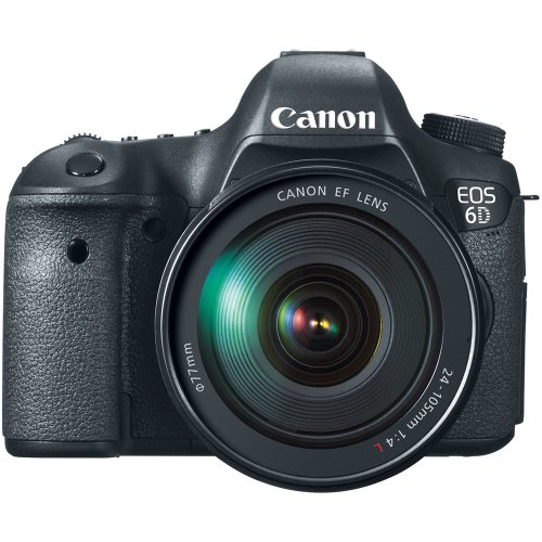 Canon EOS 6D 20.2 MP CMOS Digital SLR Camera with 3.0-Inch LCD and EF 24-105mm f/4L IS USM Lens Kit