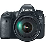 Canon EOS 6D 20.2 MP CMOS Digital SLR Camera with 3.0-Inch LCD and EF24-105mm IS Lens Kit ~ Canon