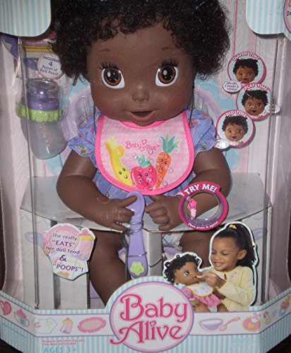 Baby Alive African American Interactive 16in. Girl Doll 2006 Playset