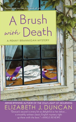 A Brush with Death (Penny Brannigan Mysteries)