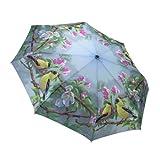 (ガレリア)Galleria NEW Gold Finches ゴールドフィンチ(ゴシキヒワ) オートマチック開閉 折りたたみ傘